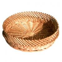 31802 wicker basket, bread basket, food basket, wicker round basket Manufactures