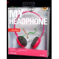 Customized Design PET Plastic Clamshell Packaging Boxes For Headphone Electronics Manufactures