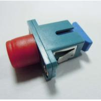 SC / Female To FC / Male Fiber Optic Connector Adapters Hybrid For Data Transmission Manufactures