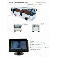 School Bus Around View Monitor Parking Guidance Universal Car Camera System, Bird View System Manufactures