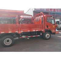 Red / White Mini Cargo Truck 4*2 With Yn4102qbzl Engine High Efficient Manufactures