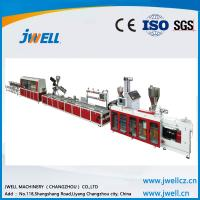 Buy cheap Jwell Famous Plastic Recycling Machines PVC Profile Extrusion Line For 5G from wholesalers
