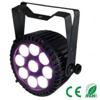 IP65 Outdoor Par Can 9pcs 10w Rgbw 4in1 / 5in1 DMX  disco dj stage lighting Decoration Manufactures
