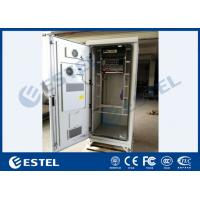 China IP55 Outdoor Power Cabinet Galvanized Steel PDU Battery ODF DCDU With Air Conditioner on sale