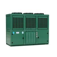 Six Cylinders 2 Stage Cooler Condensing Unit Reciprocating With Mechanical Expansion Tube Manufactures
