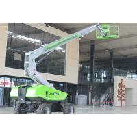 China Manlift Telescopic Boom Lift Platform Height 27m For Factory Building on sale