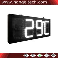 12 Inches Outdoor Waterproof Digital LED Time Temperature Date Display Sign Manufactures