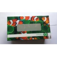 China Custom Design Tissue 3D Lenticular Packaging Boxes with UV offset printing on sale