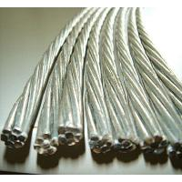 0.5mm-5.0mm Galvanized Steel Cable Wire Rod , Tensile Strength 1000-1750 MPA Manufactures