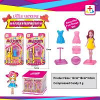 Buy cheap Magic fashion show toys for girl with press candy from wholesalers