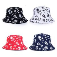China 100% cotton Double sided cheap customized bulk printing folding bucket hat size of 58-60. on sale