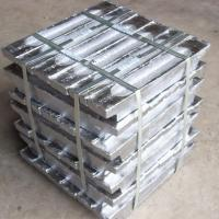 China Silvery white Lead ingot 99.99% used for babbitt in industries on sale