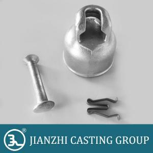 high voltage ball socket ductile iron porcelain insulator cap Manufactures