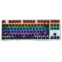 Rainbow Gaming Keyboard 87Keys For Gaming Fancier , Led Gaming Keyboard Manufactures