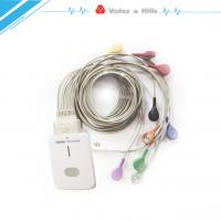 China Portable Digital 12-Channel ECG Holter Recorder with Analysis Software on sale