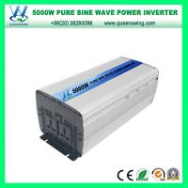 Quality 5000W Intelligent DC12/24V Pure Sine Wave Power Inverter (QW-P5000) for sale