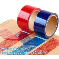 China Tamper Evident Security Void Tape,Anti Tamper Proof Evident Security Warranty Void Tape on sale
