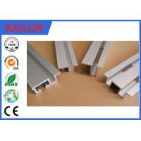Aluminium Extrusion  Elevator Door Sill Lift Landing Door Parts 55 * 25 mm Size OEM Manufactures