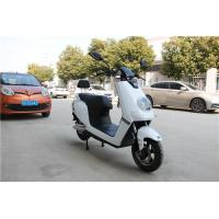 White Color Sleek Design Electric Moped For Adults 1200W DC Brushless Motor Manufactures