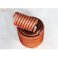 Buy cheap Flexible Condenser Coils in Coaxial Evaporators / Fin Coil Heat Exchanger from wholesalers