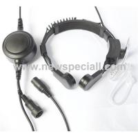 Professional quality throat microphone with earphone Manufactures