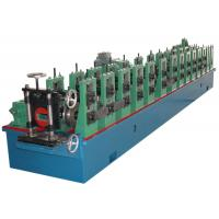 3kW High Precision PLC Automatic Control Steel Roll Forming Machine Shelf Units Manufactures