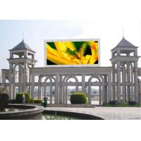 Video Single Sided Outdoor Full Color LED Display Screen 4m Min Viewing Distance Manufactures
