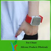 2012 hot sale silicone led watch high quality Manufactures