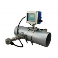 China Transit Time Fixed Insertion Ultrasonic Magnetic Flow Meter For Slurry / Sewage on sale