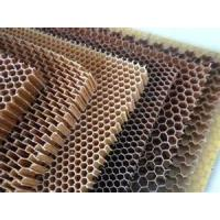 Corrugated Paper Honeycomb Core Board Sheet For Various Function Used With Heavy Load Capacity Manufactures