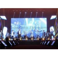 Commercial Rental Led Display Screen , Led Stage Curtain Screen Nationstar P5 Manufactures