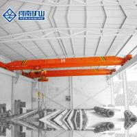 China 3 - 30m Electric Overhead Travelling Crane , 20m / Min Ceiling Mounted Bridge Crane on sale
