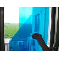 Buy cheap Temporary Blue Adhesive PE Protective Film For Glass Windows High Smooth Surface from wholesalers