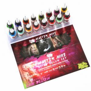China Vegan Eternal Tattoo Ink Pigment Set Airbrush Color Body Art Longer Lasting on sale