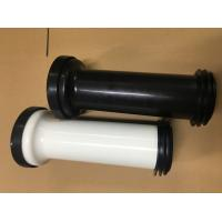 Straight Toilet Drain Pipe Small Friction Resistance Black And White Combination