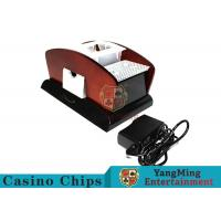 New Style Playing Card Shuffler Machine , Casino Automatic Card Shuffler Manufactures