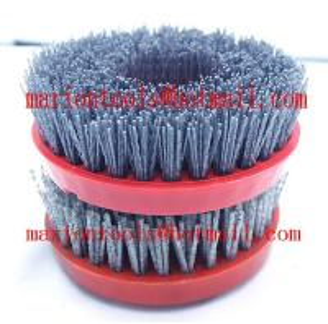 China Diam 100mm with M14/16 screw antique Brush on sale