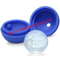 China Star Wars Death Star Ball Shape Silicone Ice Cube Mold on sale