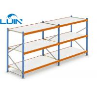 China Warehouse Commercial Shelving System, Butterfly Hole Steel Storage Shelves on sale
