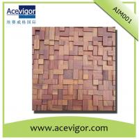 China antique wood mosaic tiles for indoor wall/background decoration on sale