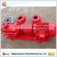 Casting iron horizontal multistage boiler water pump Manufactures