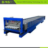 China Stable Corrugated Roof Sheet Making Machine , Roof Panel Roll Forming Machine on sale