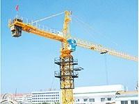10ton 6 Sets Potain Tower Crane 170m / 6516 Stationary Attached Tower Crane Static on fixing Angle Manufactures