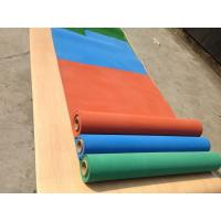 China Exercise Room Heavy Duty Gym Flooring Rolls , Coloured Rubber Athletic Flooring Matting on sale