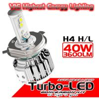 2015 NEWEST LED car headlight conversion kit H4 HIGH LOW 40W 4000LM per bulb Manufactures