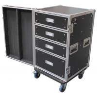 Quality 16U Standard Customer Design Eva Tool Case Wooden / Aluminum / Plastic Tool Cases for sale