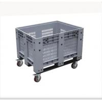 Solid Box Plastic IBC Container HDPE Plastic Pallet Container With Lid Manufactures