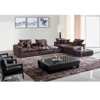 China Living Room Couch Linen Fabric Sectional Sofa Set Designs  AW-827 on sale