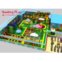 Commercial Wooden Soft Indoor Play Equipment For Toddlers Anti  Skid  Highly Reliable Manufactures