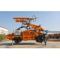 7410x2200x3200mm Underground Concrete Sprayer KC2515W Fully Hydraulic Control Manufactures